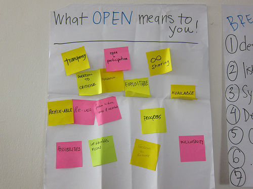 what open means to you?
