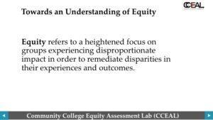 Equity understanding