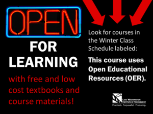 open for learning - OER infographic