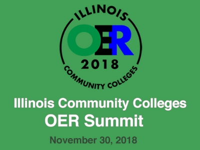 Illinois OER Summit Logo
