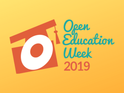 Open Education Week 2019 logo