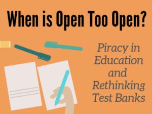 When is Open Too Open