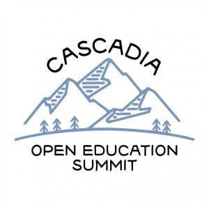 Cascadia Open Education Summit Logo