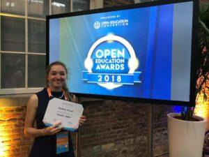 Natalie Miller OE Award