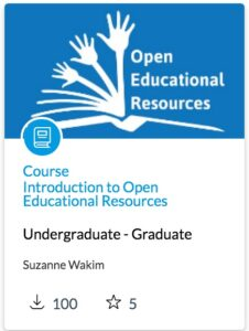 Introduction to Open Educational Resources Course